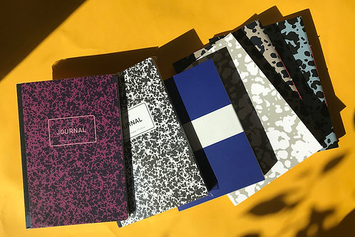 Els & Nel Notebook 1 (5mm squared/ruled)