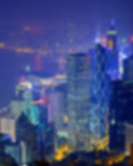 Hong Kong skyline from Victoria Peak..jp