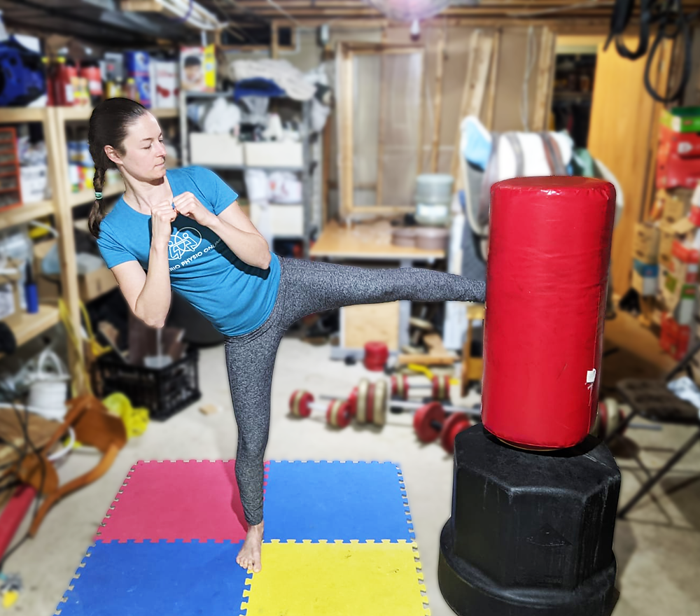 Return to sport activity kick boxing