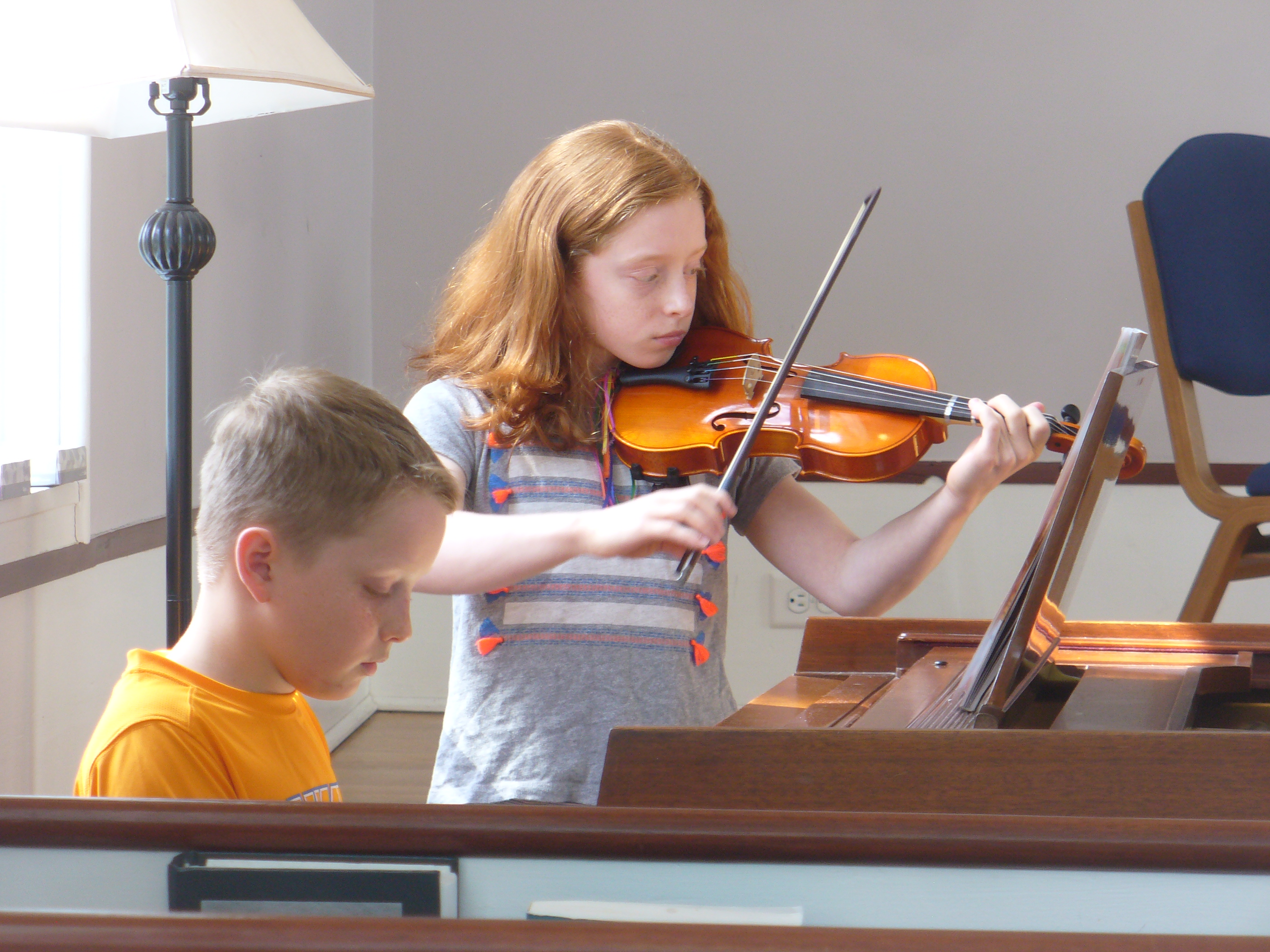Sister & Brother - Violin Piano Duo