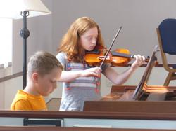 Sister & Brother - Violin Piano Duo