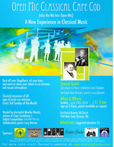 Open Mic Classical /  Sunday, June 19th, 2016 @ 3pm