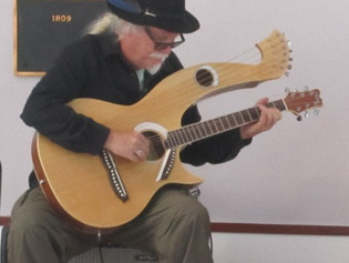 Harp Guitar and Neoclassical Music at Open Mic Classical, May 21st, 2017