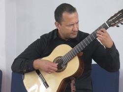 Classical guitarist, Emile Krasich