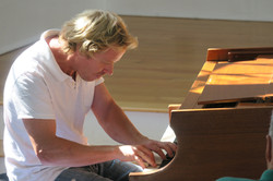 Jared McMurray on piano