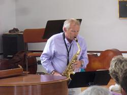 Tim Blegen - saxophonist