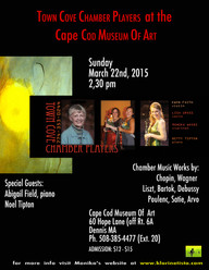 Town Cove Chamber Players at the Cape Cod Museum of Art