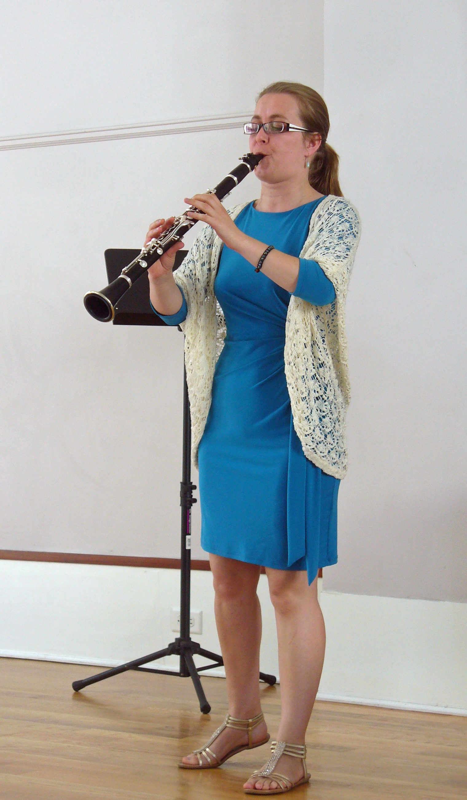 Clarinetist Monika Woods