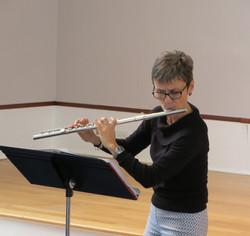 Flutist LeeAnn McKenna