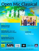 Dec 17th, 2017 / Featured Guest Violinist Dan Flonta