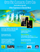 Jan 15th, 2017 / Featured Guest  Bruce Abbott (saxophone) and Lucy Banner (piano)