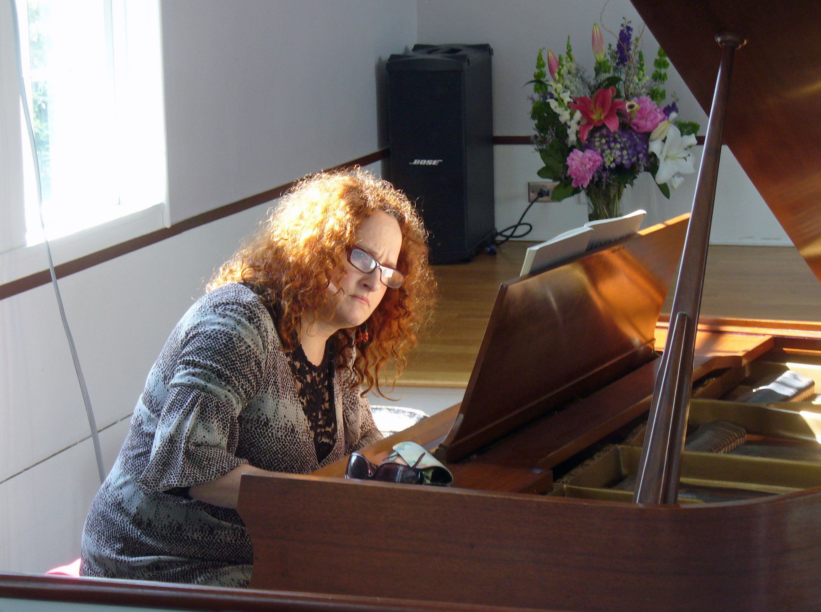 pianist Lisa Gross