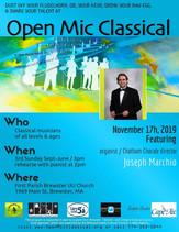 Nov 17th, 2019 / Featuring organist Joseph Marchio /  FBP UU 3pm