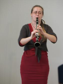 Clarinetist Monika Woods