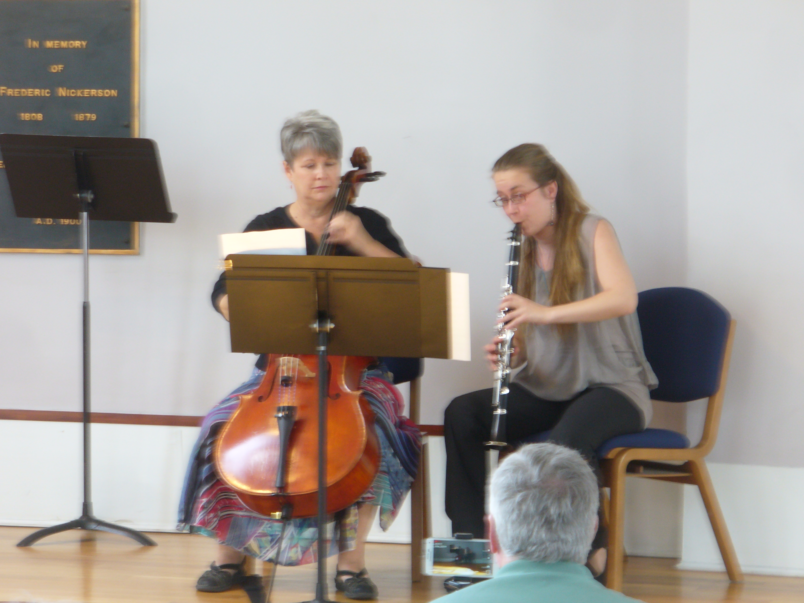 Clarinet Cello Duet