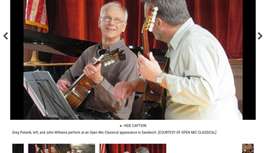 Open mics give everyone a chance to shine on Cape Cod - Cape Cod Times Article