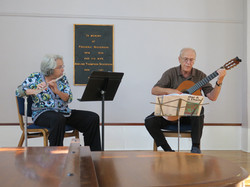 Flute Guitar Duet