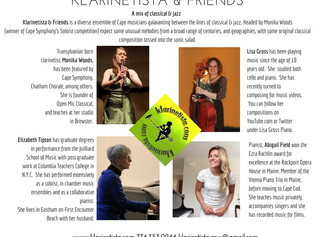 Klarinetista & Friends at the Cape Cod Museum of Arts, Dennis MA / March 12th, 2017 / 2:30 - 3:3