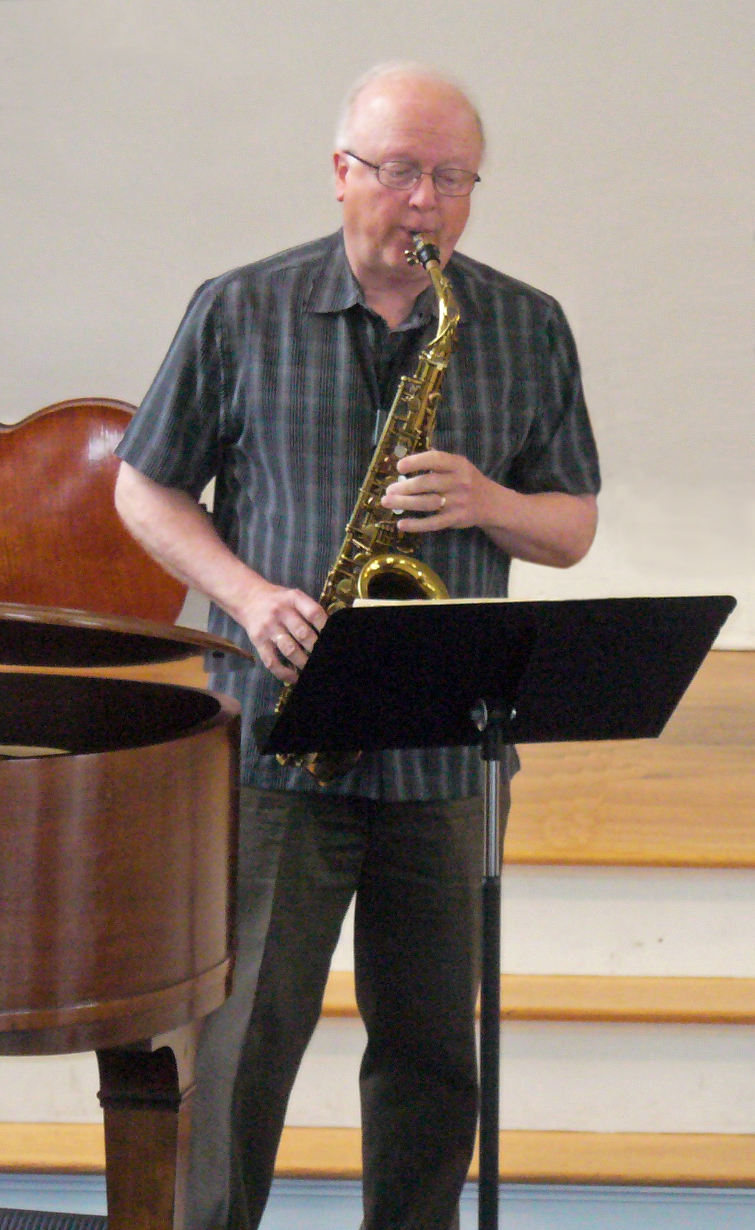 Bruce Abbott saxophone