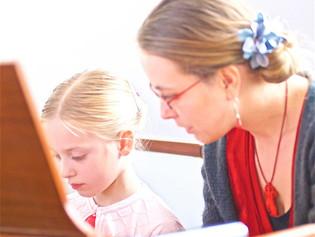 Clarinetist Monika Woods, and daughter Zsoka Woods part of the WILPF Women's International Day Celeb