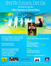 Feb 19th, 2017 / Featured Guests Clarinetist Monika Woods & Pianist Elizabeth Tipton