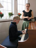 7 year old pianist