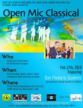 Feb 17th, 2019 / Featured Guest Violinist Dan Flonta