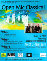 Oct 21st, 2018 / Featured Guest Pianists Kaeza and Kenneth Fearn