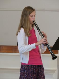 9th Grader Clarinetist