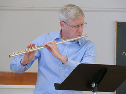 Flutist Carl Gutowski