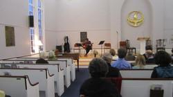John Dirac on guitar