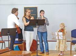 Family quartet