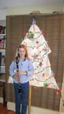 Music Christmas Tree with Clarinetist