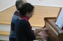Ana Glig and James Rosenblum