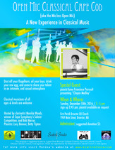 Open Mic Classical /Chopin Medley with pianist Anne Franciose Perrault /  Sunday, December 18th, 201