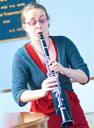 Klarinetista Solo at the 11th Annual Brewster Art Exhibit / March 11th, 3 - 5pm / Brewster Ladies&#3
