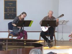 Clarinet Guitar Duet