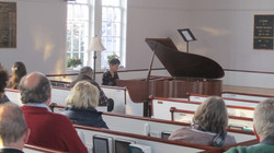 Kaeza Fearn guest artist on piano