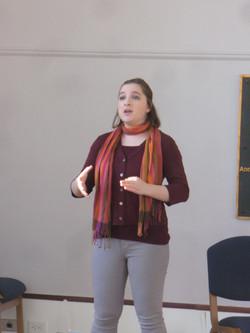 Singer Olivia Di Bari