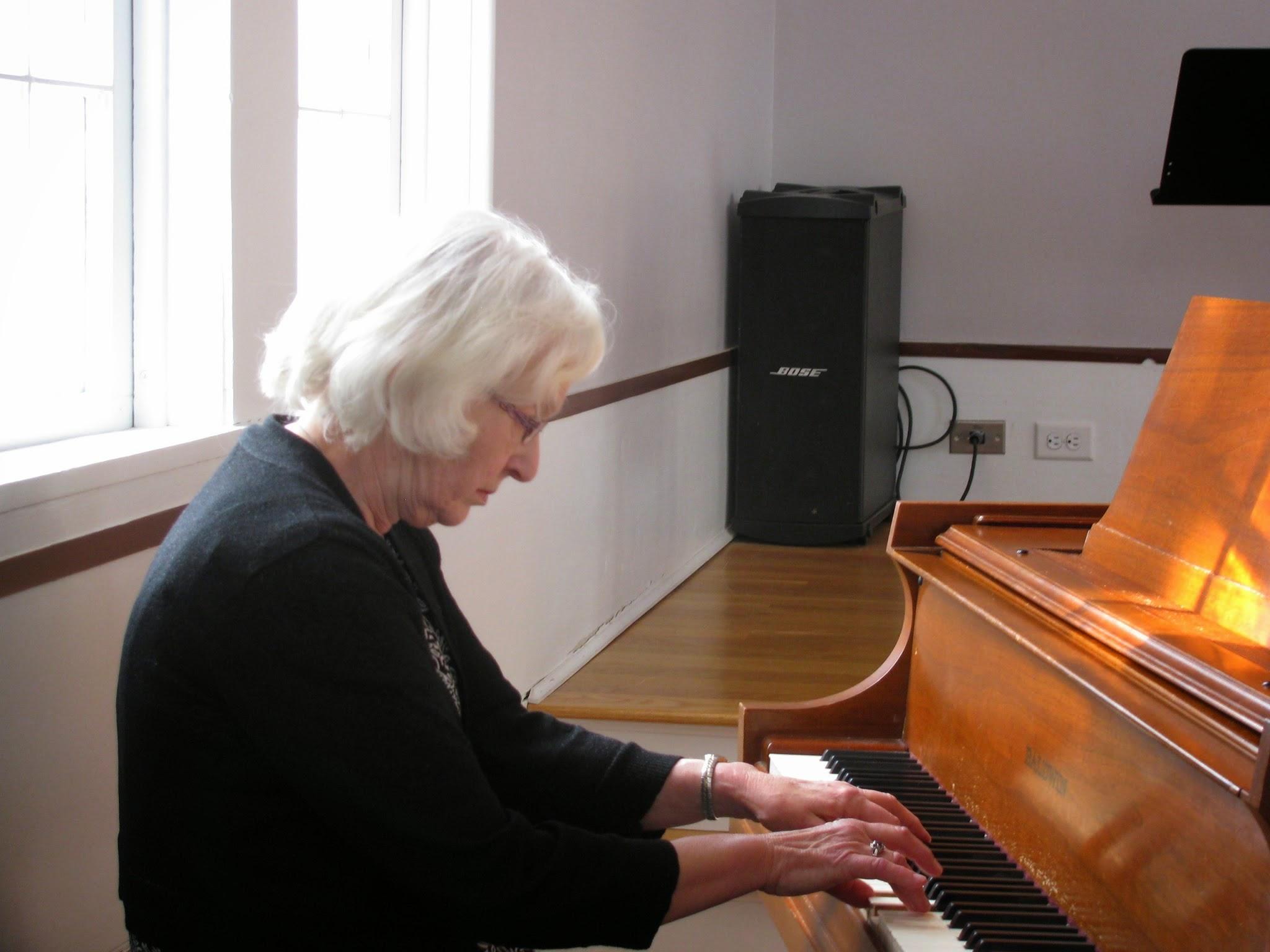 Carol Davis piano