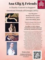 American Friends of Georgia - Benefit Concert - Sandwich Town Hall - Dec 14, 2018 / 7pm