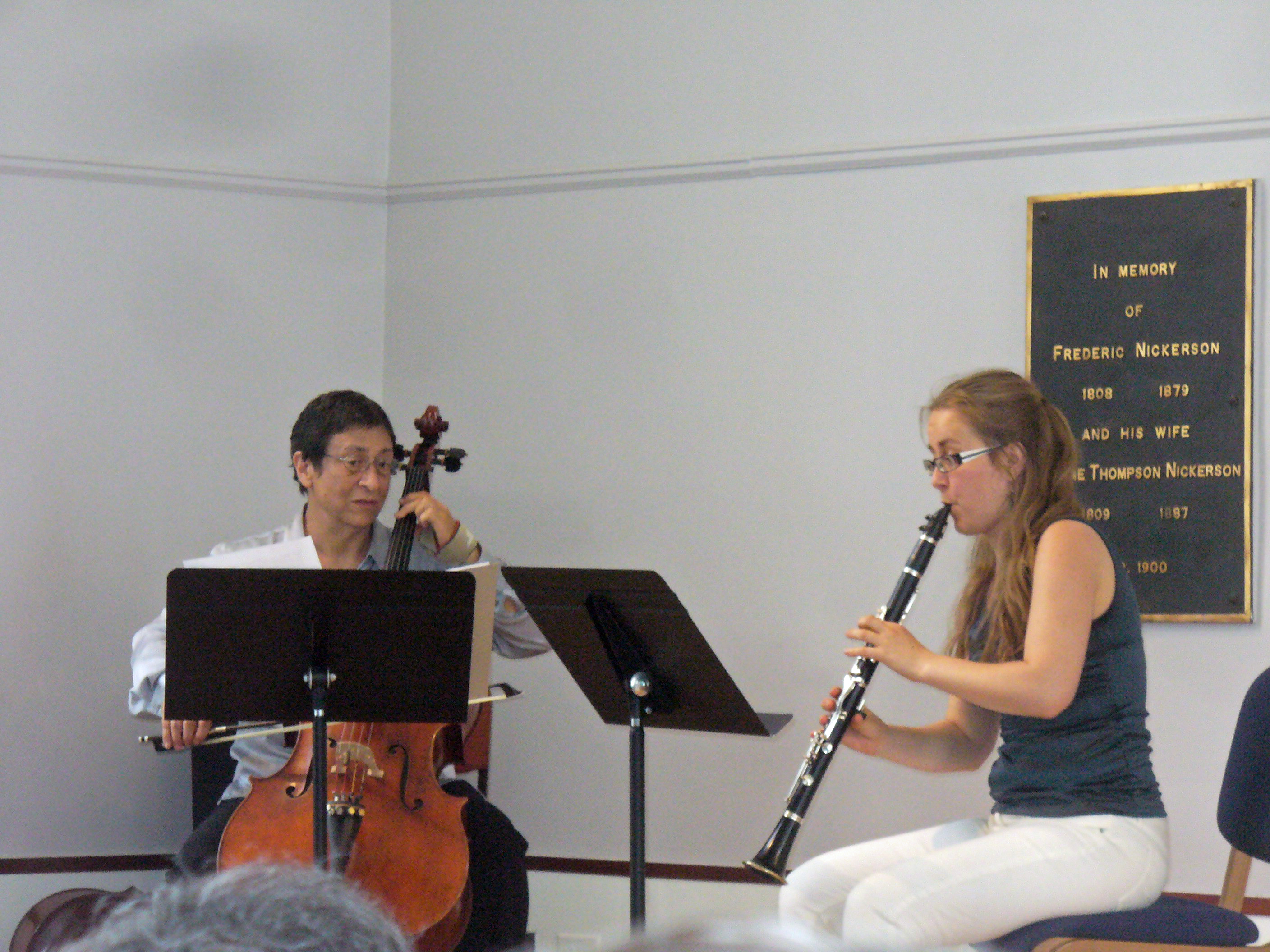 Clarinet - Cello Duet