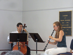 Clarinet - Cello Duet