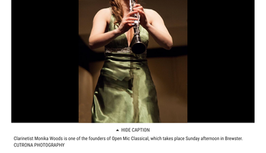 Open Mics Are Not Just for Pop Music - Cape Cod Times
