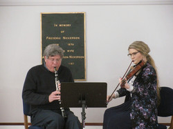 Father&Daughter /Clarinet Violin Duo