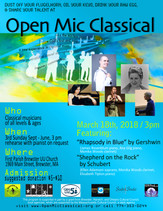 March 18th, 2018  OMC Featuring Schubert, and Gershwin
