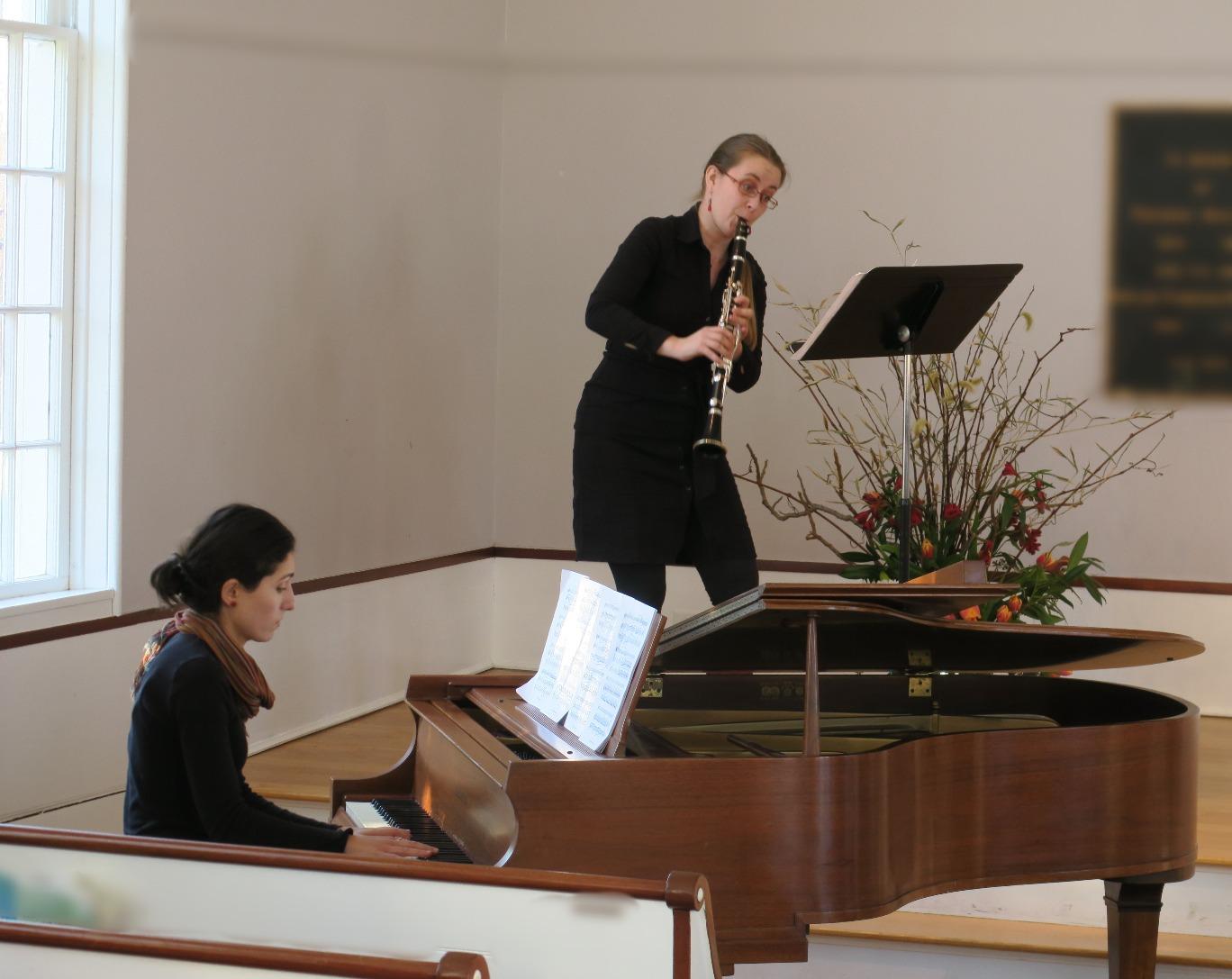 Clarinet Piano