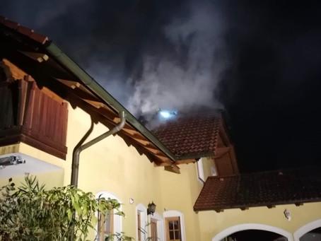 Brandeinsatz Einfamilienhaus