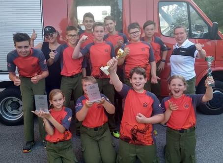 Feuerwehrjugendleistungsbewerb in St. Nikola an der Donau