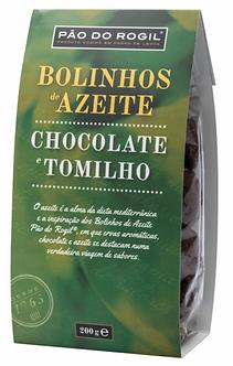 Bolinhos de Azeite Pão do Rogil de Chocolate e Tomilho